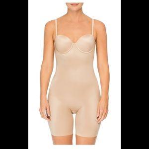 Spanx suit your fancy mid Thigh Bodysuit shaper